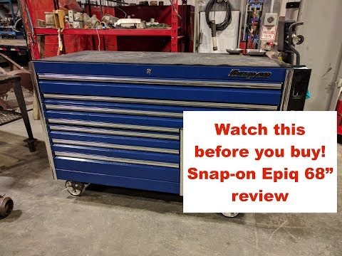 "Watch this before you buy! - Snap-on Epiq 68"" review"