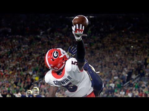 Georgia Bulldogs Best Plays (2017 Pt 1)
