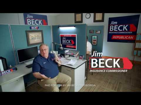 "Jim Beck for Insurance Commissioner - ""A Face for Radio"""