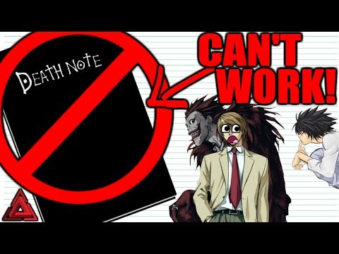 Why The Death Note Would FAIL!