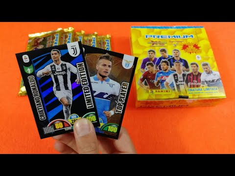 SPECIALE 50K | RONALDO LIMITED+TOP PLAYER BOX PREMIUM Adrenalyn  XL 2018-19!! Parte 2
