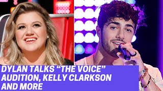 """Dylan Hartigan talks about Kelly Clarkson, NBC's """"The Voice"""" audition, self care and music"""