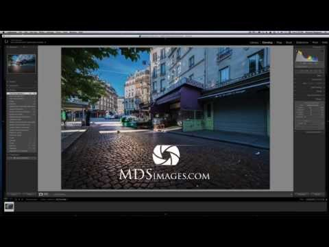 How to create a wet cobblestone look in your images