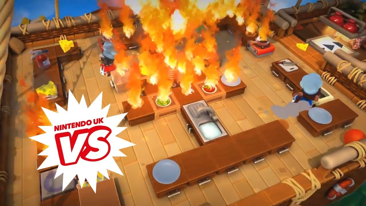 Overcooked! 2 - Developer Showcase from Nintendo UK VS Live