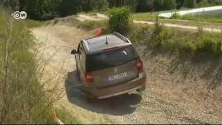 Новая модификация Skoda Yeti — тест-драйв с полным приводом(Skoda готовится к расширению модельной линейки. Скоро чешская компания может начать выпуск 7-местного паркетн..., 2014-07-27T15:49:20.000Z)