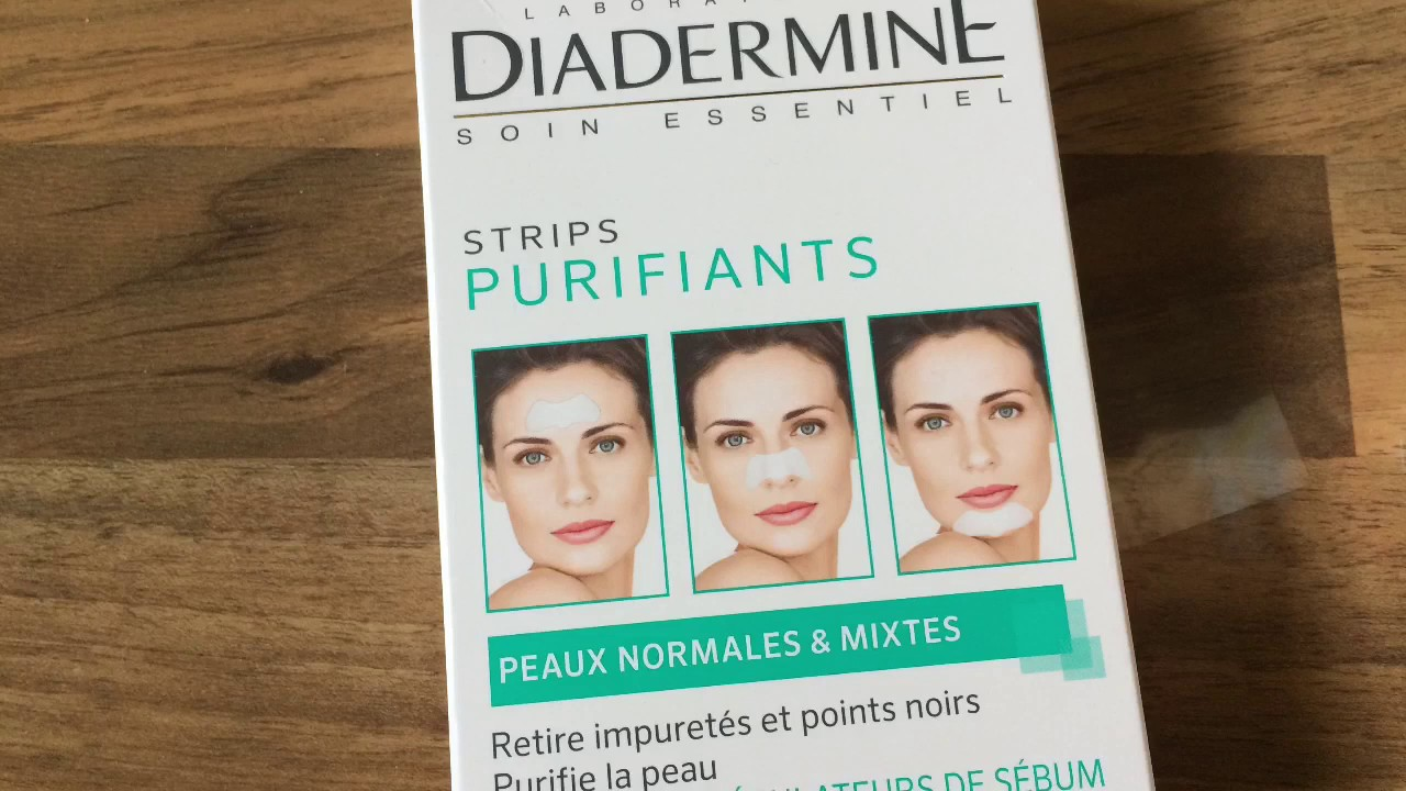 Exceptionnel Test-Patch Anti Points Noirs Diadermine - YouTube QT04