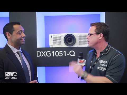 ISE 2014: Frank Anzures Shows rAVe the Christie Q Series Projectors