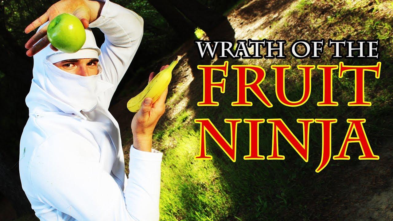 Wrath of the FRUIT NINJA (Finger Games 2) Action Comedy Fight Scene