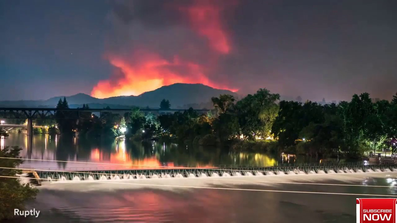 Carr Fire map: California fires RAGE - latest affected area