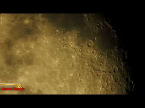 Asteroids Seen Around The Moon And Constellation Of Taurus