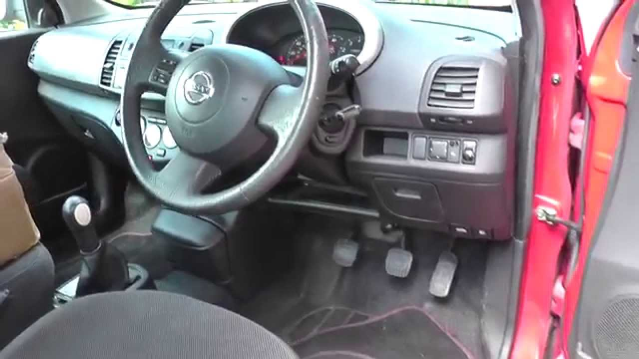 maxresdefault nissan micra k12 fuse box location video 2003 to 2010 2 youtube 2014 nissan versa fuse box location at crackthecode.co