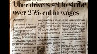 LA Uber Drivers Plan To Strike Over 25% Pay Rate Cuts