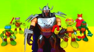 Teenage Mutant Ninja Turtles save April O