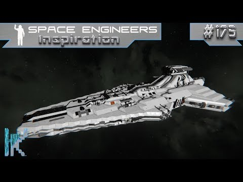 Space Engineers Inspiration - E175: Orion Heavy Cruiser, U.S.S. Discovery, & Star Destroyer