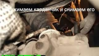 видео Снятие рулевой рейки Фольксваген Пассат В3