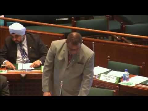 Response by Fijian Minister for Defence, National Security and Immigration, Hon. Timoci Natuva.
