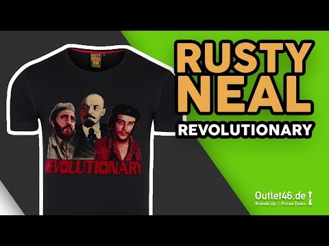 Rusty Neal Revolutionary T-Shirt l wie Off-White? Shirt DEUTSCH l Review l On Body l Outlet46