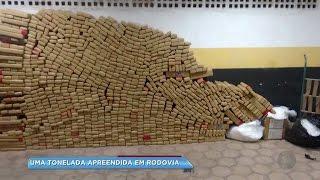 Mais de uma tonelada de droga é apreendida em Pardinho