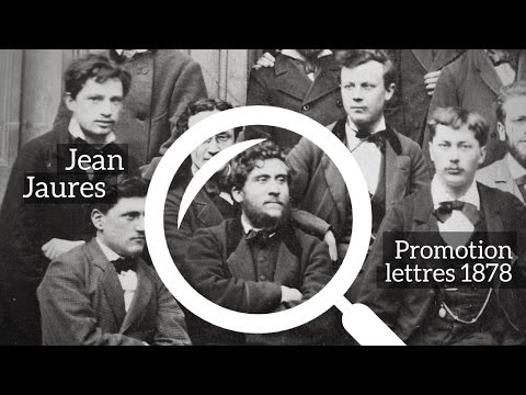 JEAN JAURES - NORMALIEN PROMOTION 1878 ( Hommage de Frédéric Worms)