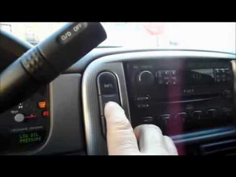05 freestyle oil reset