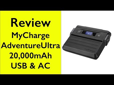 Review myCharge Adventure Ultra 20,000mAh portable power outlet