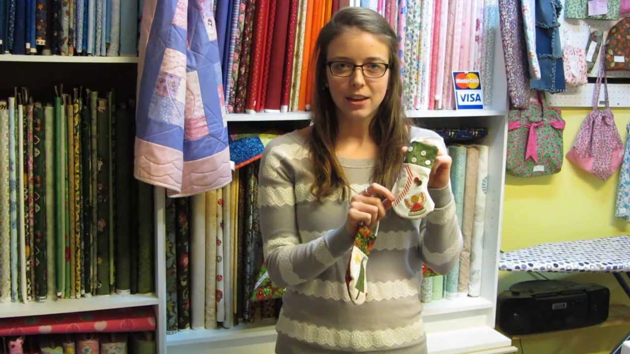 Sewing Christmas Gift Ideas 2013 - YouTube