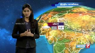 Weather Forecast | 24.04.2016 | News7 Tamil
