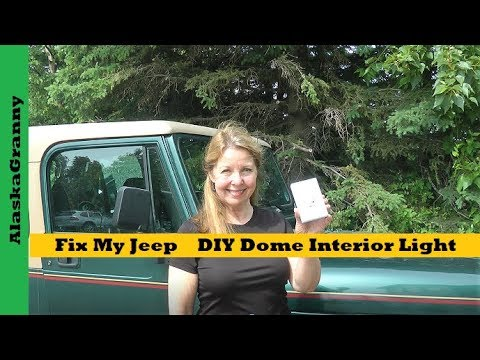 Fix My Jeep DIY Dome Light Interior Light