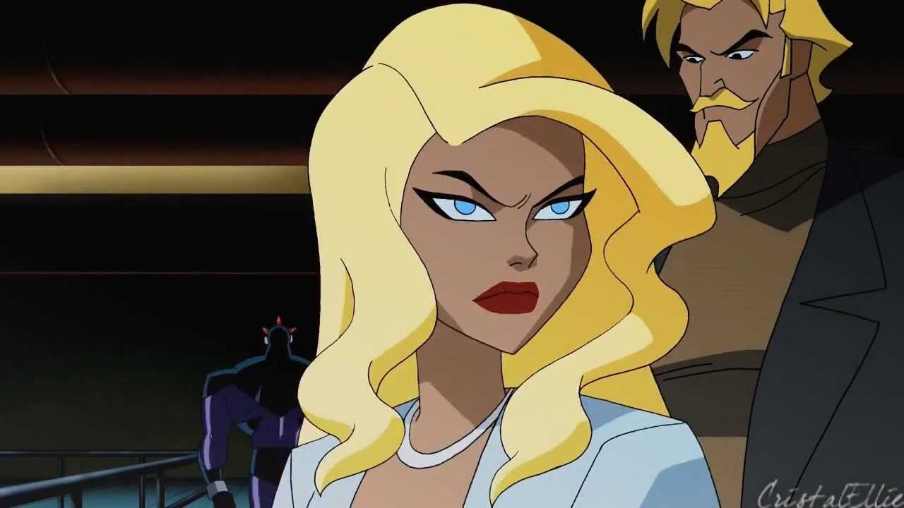 justice league unlimited black canary and green arrow meet