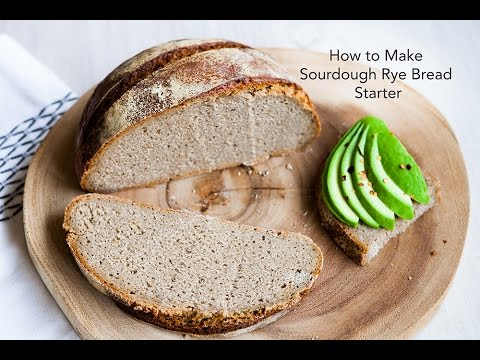 Bread making: How to make Rye Sourdough Starter from scratch