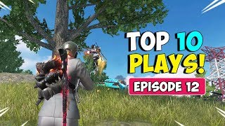 ROS Top 10 Plays! Ep.12! (Rules of Survival Montage)