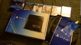 Unboxing PS4 y Juegos Extras