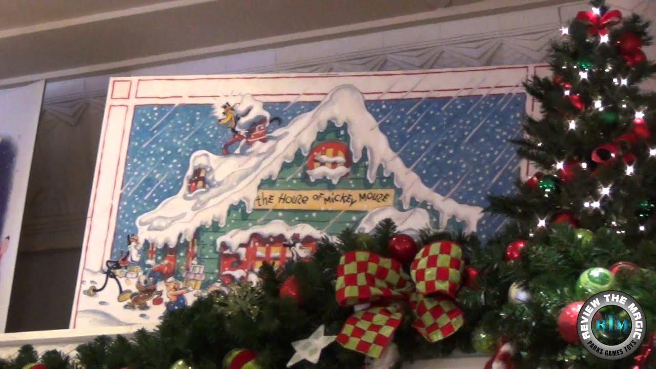 Vintage Disney Christmas Cards in Display at Hollywood Studios ...