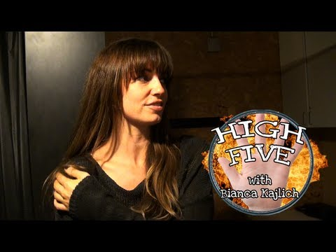 Loveline High Five: Bianca Kajlich