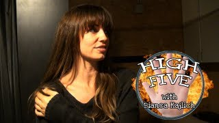 Loveline High Five: Bianca Kajlich
