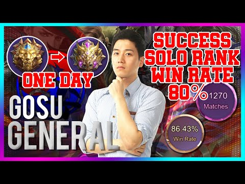 Solo Marksman Rank Legends to Mythic in a day! Special/ Mobile Legends