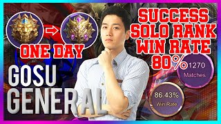 Special Content LEGENDS to MYTHIC Solo Rank 80% Win Rate Special/ Mobile Legends