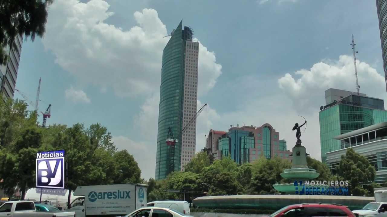 la torre mayor de mxico es considerado el edificio ms fuerte del mundo youtube