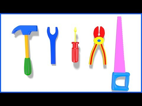 Hindi Tool Names   Hindi Tool Box Play Set & Game Play   Educational Video for Kids & Children