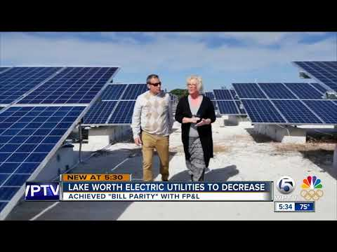 Lake Worth electric utilities to decrease