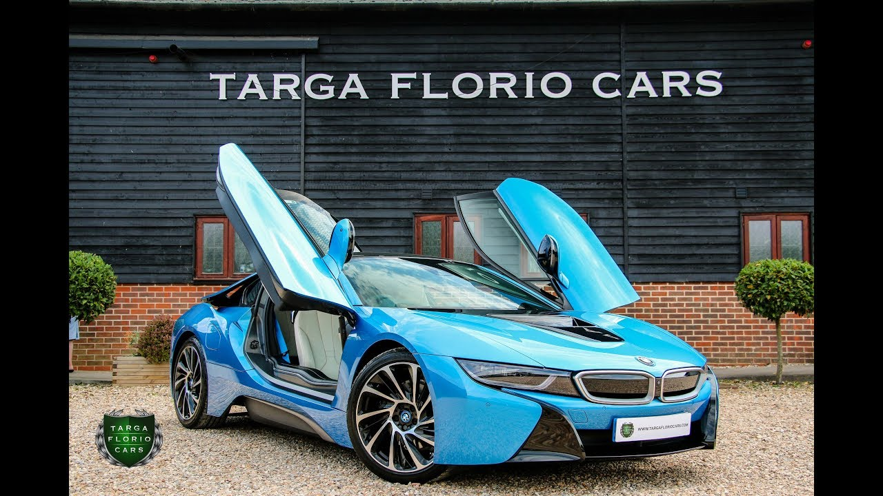 Bmw I8 2dr 1 5 Awd Hybrid Coupe Automatic In Protonic Blue 2015