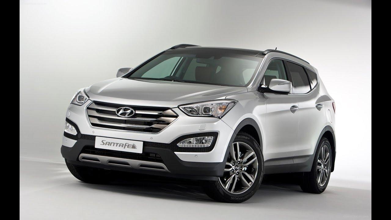 Hyundai Santa Fe 4WD review I Top Sd - YouTube