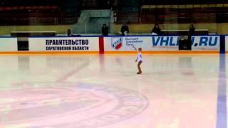Юный фигурист Ханина Даша 5 лет Саратов 14 декабря