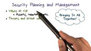 Security Planning and Management