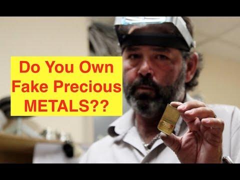 ALERT: Fake Gold/Silver Bars?? (Bix Weir)