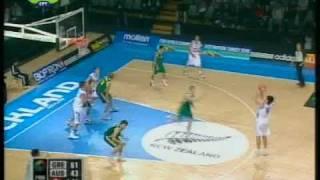 Εθνική Εφήβων (U19) : Ελλάδα - Αυστραλία 84-69 (11-7-09)