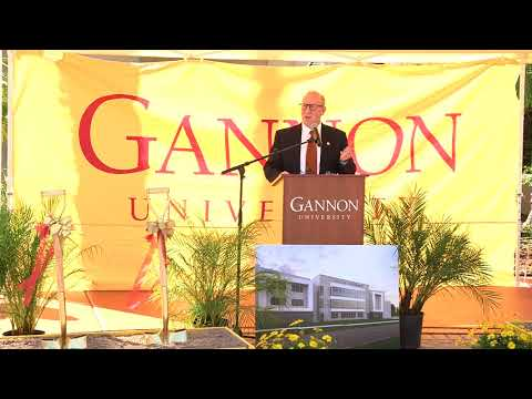 Gannon Ruskin Campus Groundbreaking and Blessing