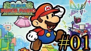Let's Play : Super Paper Mario - Parte 1