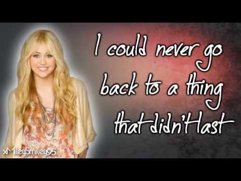 Hannah Montana - Que Sera (with Lyrics)