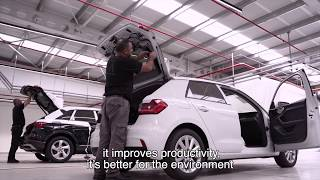 Automotive center  - testimonial - Palram Industries